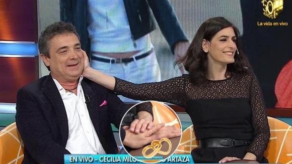 Nito Artaza y Cecilia Milone hablaron de sus deseos de casarse, ¿y tener hijos?