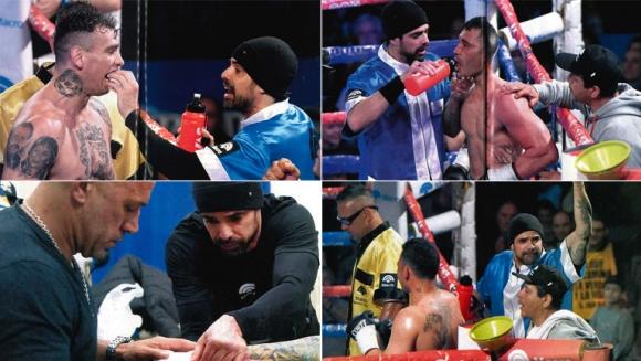 La otra pasión de Luciano Castro, el boxeo (Foto: revista Gente)