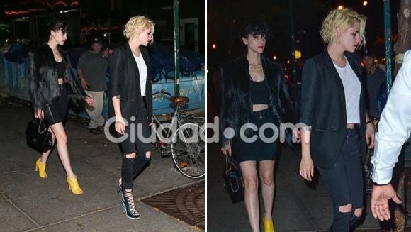 Kristen Stewart se mostró en público con su nueva novia, la ex de Cara Delevigne