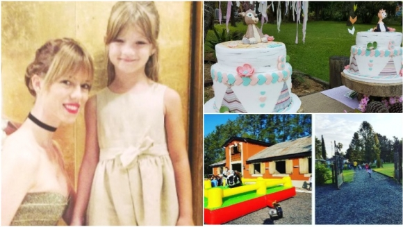 El álbum de fotos del cumpleaños de Indiana, la hija mayor de Nicole Neumann (Fotos: Instagram)
