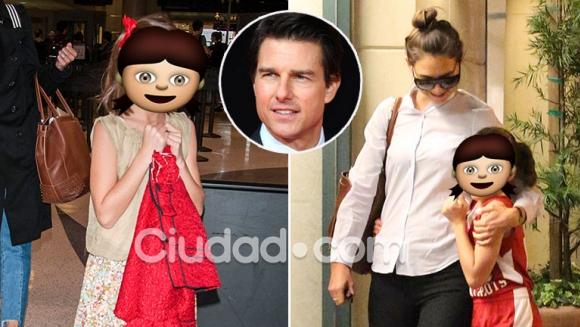 Así está hoy Suri, la hija de Tom Cruise y Katie Holmes. (Foto: Grosby Group)