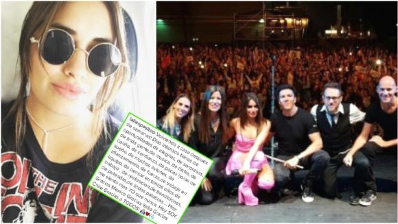 La carta de Lali Espósito en Instagram tras finalizar su gira Soy tour (Fotos: Instagram)