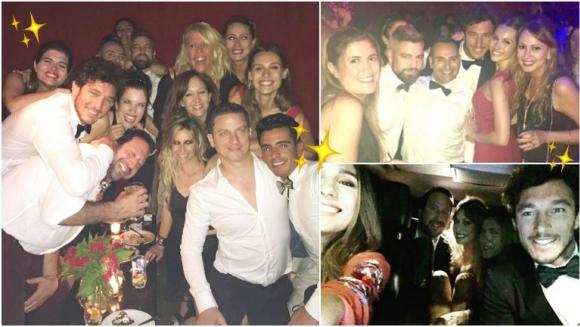 La noche de fiesta de Pampita y Pico Mónaco con amigos (Fotos: Instagram)