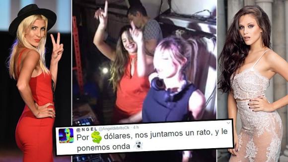 Barbie Vélez y Cande Ruggeri, juntas en una disco tras el escándalo por un tercero en discordia: el cachet en dólares que recibieron. (Foto: Web)