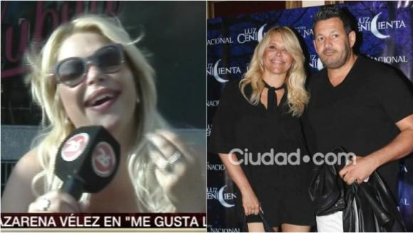 La tremenda calificación que Nazarena Vélez le dio a su novio Pablo Melillo en el sexo. Foto: Captura/ Ciudad.com
