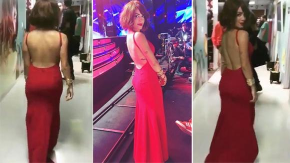 El vestido sexy de Lali Espósito en el Festival de Viña del Mar (Foto: Instagram)
