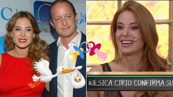 ¡Viene la cigüeña! Jésica Cirio confirmó su embarazo:
