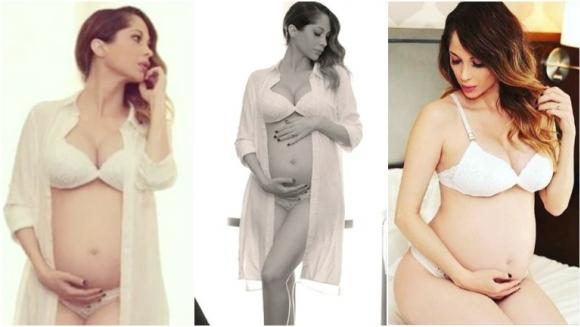 La primera producción de Vanesa Carbone, embarazada de 5 meses (Fotos: Instagram)