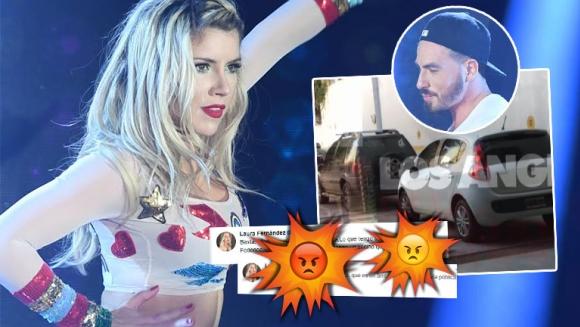 El enojo de Laurita tras la difusión de una imagen de Fede Bal en su casa