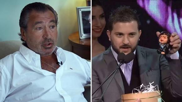 Daniel Vila, duro contra Brancatelli por la broma de los Martín Fierro. Foto: Twitter