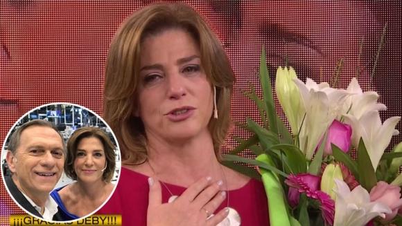 Así fue la emotiva despedida de Debora Pérez Volpin de eltrece
