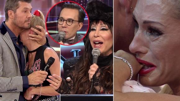Yanina Latorre rompió en llanto en el vivo de Bailando 2017 (Fotos: Captura)