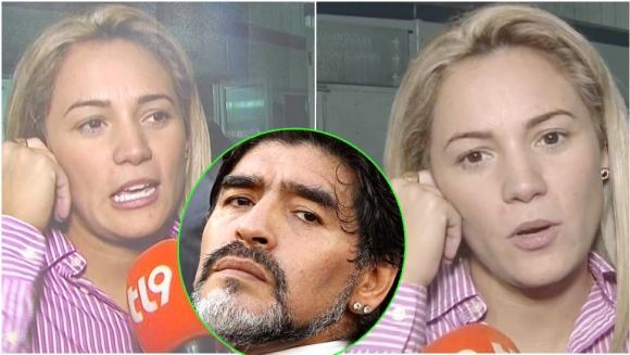Rocío Oliva habló de su relación actual con Diego Maradona (Fotos: Captura y Web)