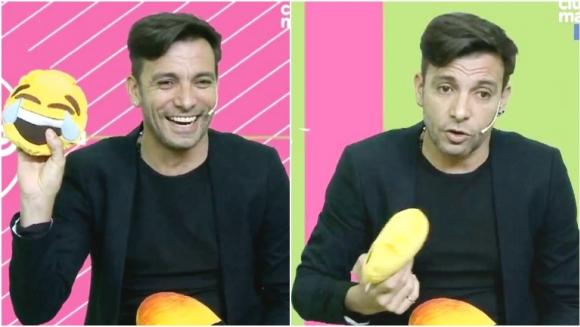 Martín Bossi habló de su particular concepto sobre el amor en #UnaTardeCon (Fotos: Captura)
