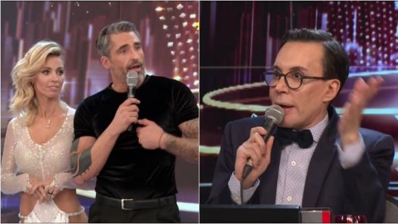 Polino le puso un cero a Rocío Guirao y Nicolás Paladini en el Bailando y ellos se enfurecieron: