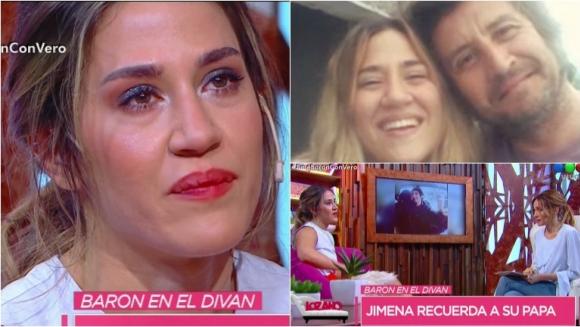Jimena Barón se emocionó al hablar de su papá en Cortá por Lozano