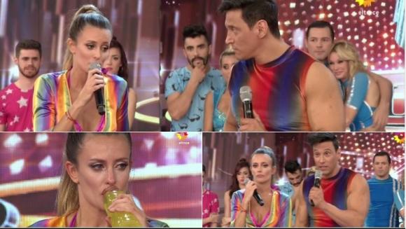 El durísimo cruce de Melina Lezcano y Joel Ledesma en ShowMatch que terminó con el despido del bailarín. Foto: Captura