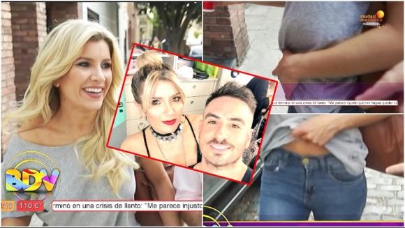 La reacción de Laurita Fernández cuando le preguntaron sobre los rumores de embarazo de Fede Bal (Fotos: Captura y Web)