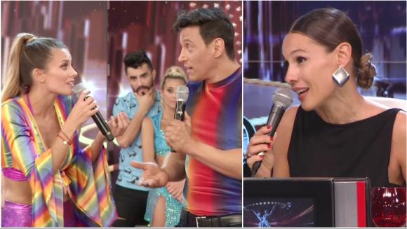 El tremendo comentario de Pampita a Melina Lezcano tras pedir el reemplazo de su bailarín (Fotos: Captura)