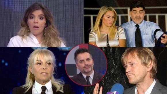 Las reacciones de Dalma Maradona y Claudia Villafañe ...