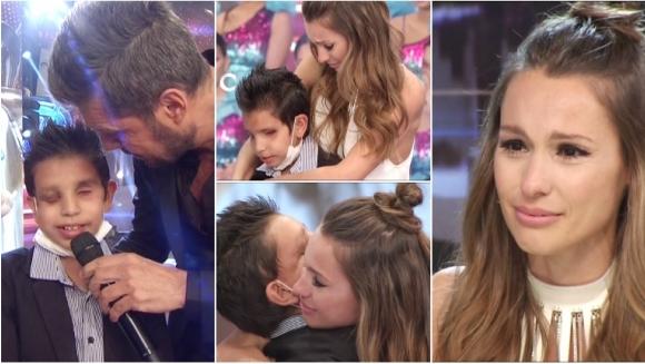 El emotivo encuentro entre Thiago Boneiro y Pampita en ShowMatch