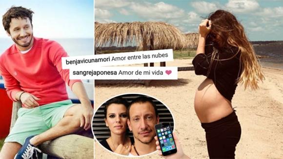 China Suárez y Benjamín Vicuña, enamorados en Uruguay