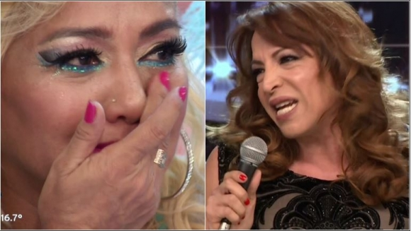 Las palabras de Lizy Tagliani en el Bailando que hicieron quebrar en llanto a La Bomba Tucumana