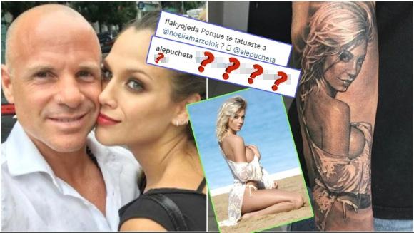 El jugadísimo tatuaje del papá de Barbie Vélez... ¡inspirado en Noelia Marzol!: Fue solo porque me gustó la foto