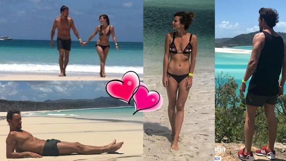 Nico Vázquez y Gimena Accardi, enamorados en una paradisíaca isla de Australia: lomazos, paisajes increíbles y...