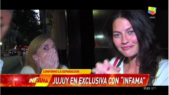 La reacción de Sofía Jujuy Jiménez cuando una vecina del barrio le preguntó por el Pelado López