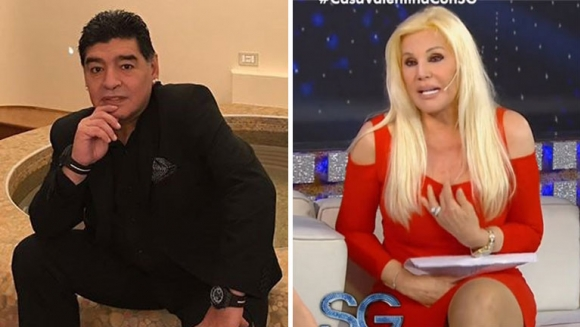 El duro audio de Diego Maradona contra Susana Giménez
