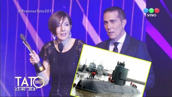 Cristina Pérez pidió un minuto de silencio para homenajear a los 44 tripulantes fallecidos en el submarino Ara San...