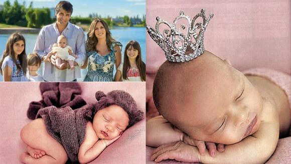 Sandra Borghi presentó a su beba con una hermosa producción de fotos: Juana fue el broche de mi vida