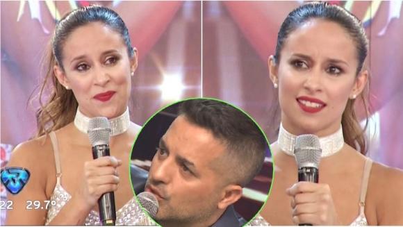 Lourdes Sánchez se emocionó en las semifinales de Bailando 2017