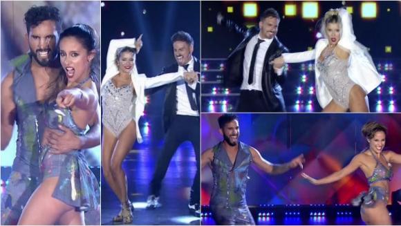 Los increíbles bailes de Laurita Fernández-Fede Bal y Lordes Sánchez-Gabo Usandivaras en ShowMatch