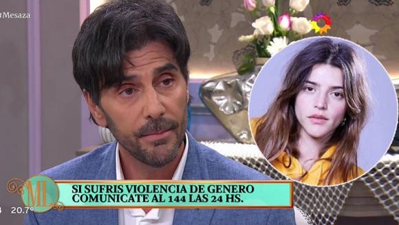 """Juan Darthés habló de la acusación de acoso de Calu Rivero: """"Estoy viviendo momentos difíciles"""""""