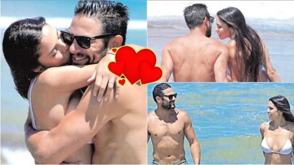 Maypi Delgado presentó a su novio Santiago Ladino (Fotos: revista Caras)