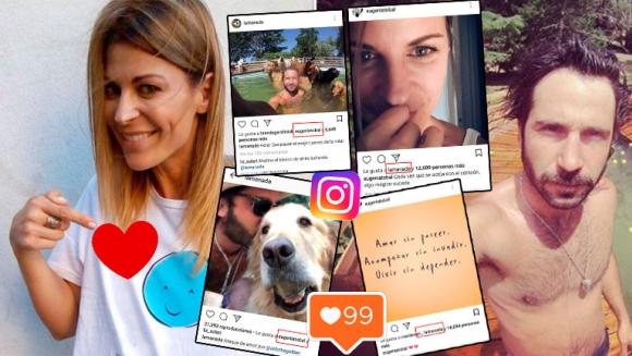 Eugenia Tobal y Francisco García Ibar, súper buena onda en Instagram tras los rumores de romance