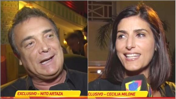 El deseo de Nito Artaza de ser papá y el freno de Cecilia Milone (Fotos: Capturas)