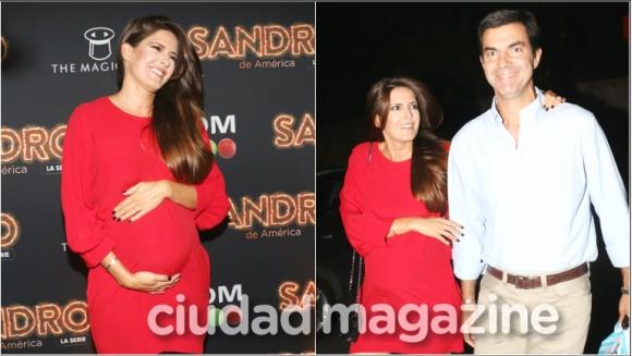 Las fotos de Isabel Macedo y Urtubey en la presentación de la serie Sandro de América (Fotos: Movilpress)