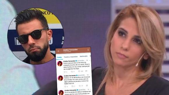Cinthia Fernández, enojada con Defederico: Me da bronca que se me acuse de que no lo dejo ver a las nenas