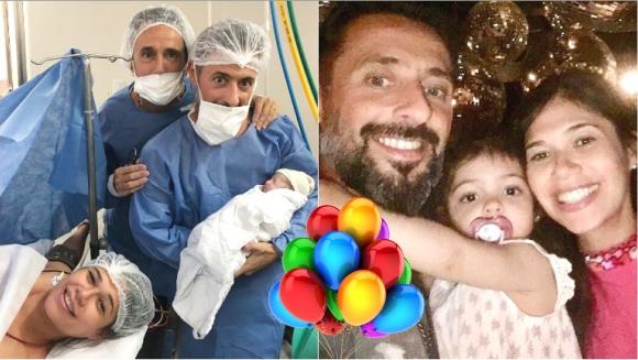 Nació Zoe, la segunda hija de Mariana de Melo y José Fortunato (Fotos: Twitter e Instagram)