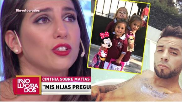 Cinthia Fernández se quebró al hablar de cómo le contó a sus hijas que estaba separada de Defederico (Fotos: Captura e Instagram)