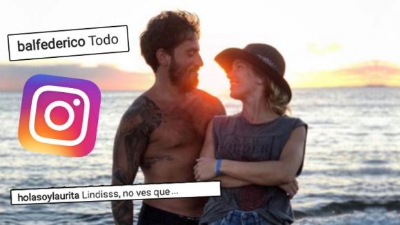 Laurita Fernández y su divertido reclamito a Fede Bal: Lindis, ¿no ves que la foto no favorece a ninguno?