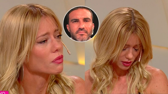 El llanto de Nicole Neumann, en medio de su conflictivo divorcio con Cubero