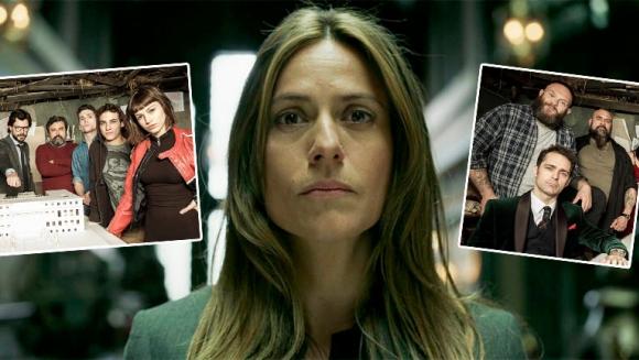 Itziar Ituño, la inspectora de La casa de papel, habló de la tercera temporada de la serie