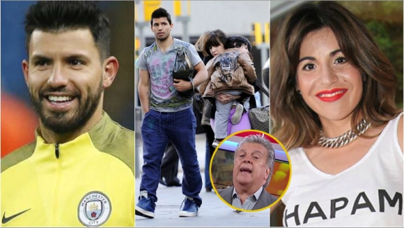 ¿Giannina Maradona y el Kun Agüero se reconciliaron?
