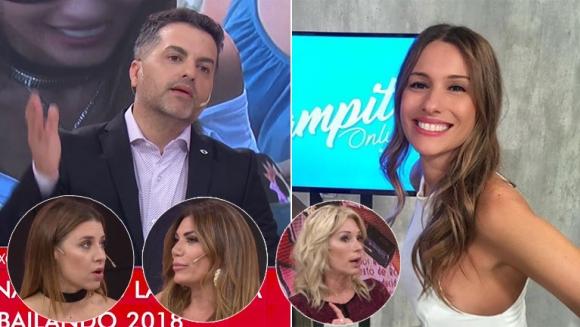 Fuerte crítica de Ángel de Brito y sus panelistas a Pampita: Es una chorra