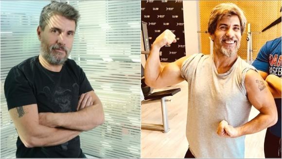 El increíble cambio físico de Chato Prada (Fotos: Instagram)