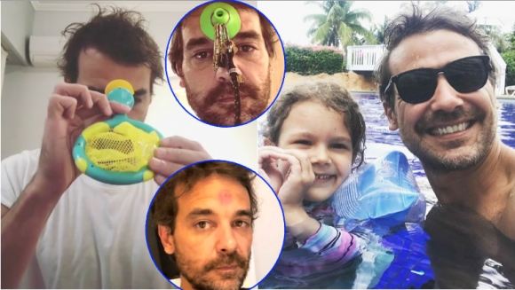 La divertida advertencia de la hija de Pedro Alfonso tras su desopilante blooper (Fotos: Instagram y Capturas de video de Instagram Stories)